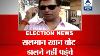 Few Bollywood celebrities couldn't vote today due to various reasons - ABPNEWSTV