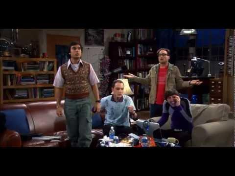 Big Bang Theory meets Harlem Shake [Original Unedited Version]