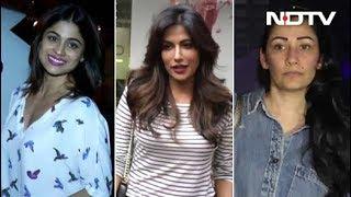 Celeb Spotting! Shamita Shetty, Manyata Dutt & Chitrangada Singh Snapped - NDTV