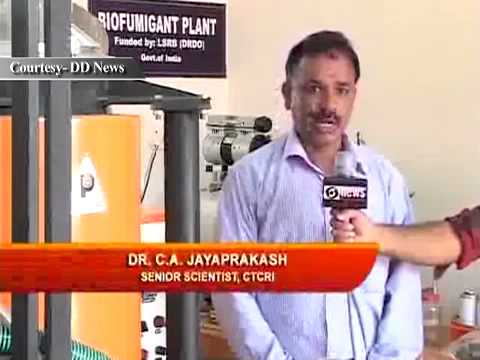 Bio-pesticide unit  at Central Tuber Crop Research Institute, CTCRI  Kerala