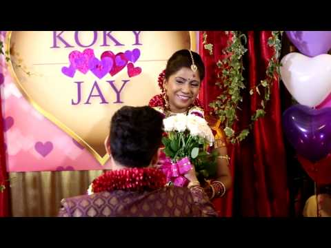 Malaysian Indian Engagement Ceremony of THR Jay & Koky
