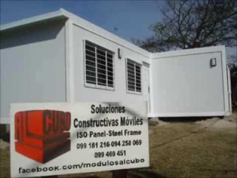 AlCubo viviendas modulares, isopanel y steel framing