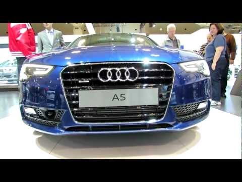 2012 Audi A5 TFSI Quattro Exterior and Interior at 2012 Toronto Auto Show - CIA