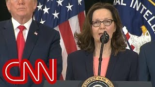 Gina Haspel sworn-in as first female CIA director - CNN