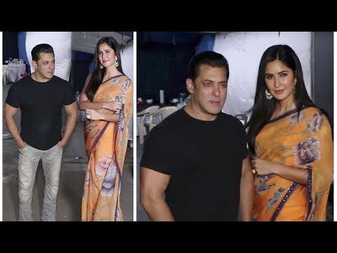 Salman Khan stunned after watching her girlfriend in traditional wear! Bharat Movie