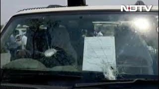 बंगाल में मतदान के दौरान हिंसा: CPM उम्मीदवार की कार पर हमला - NDTVINDIA