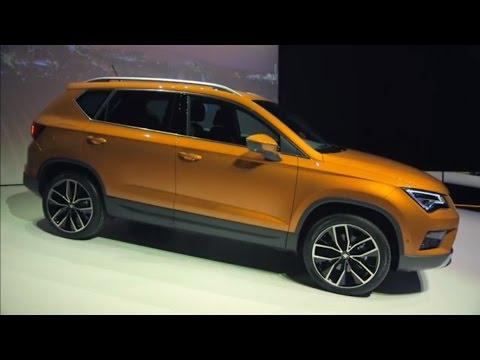 Autoperiskop.cz  – Výjimečný pohled na auta - Autosalon Ženeva 2016 – Seat Ateca – VIDEO