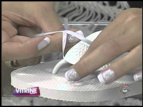 Karina Pereira apresenta chinelos bordados (16/12)