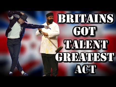 Britains Got Talent Suleman Mirza MICHAEL JACKSON Tribute ALL performances 