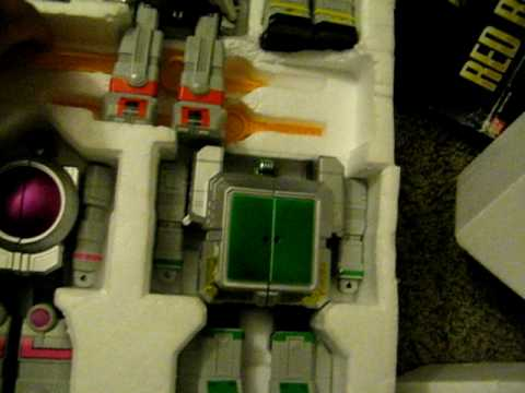 Goodwill Thrift Store Toy Pickups Power Rangers Zeo Megazord Battlezord