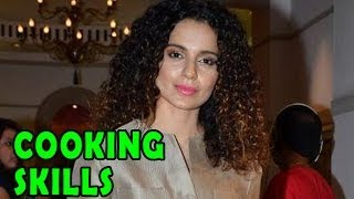 Queen | Kangna Ranaut talks about her Cooking Skills