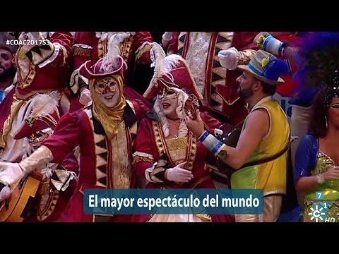 Sesión de Semifinales, la agrupación El mayor espectáculo del mundo actúa hoy en la modalidad de Coros.