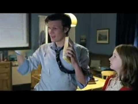 Dr who bloopers and funny scenes (10th and 11th Doctor)