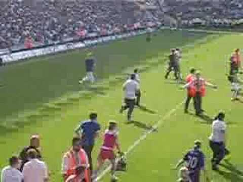 Birmingham City Pitch invasion