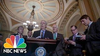 Mitch McConnell Convinced Government Shutdown Won't Happen | NBC News - NBCNEWS