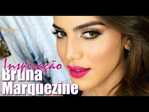 Maquiagem inspirada na Bruna Marquezine