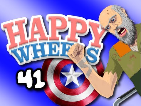 CAPTAIN AMERICA Happy Wheels w ChimneySwift11 41 THE AVENGERS HD