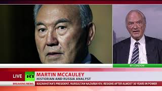 What happens after Kazakhstan's leader Nursultan Nazarbayev resigns after 30 years of rule? - RUSSIATODAY