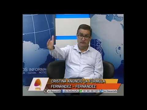 CRISTINA ANUNCIÓ LA FÓRMULA FERN�NDEZ – FERN�NDEZ
