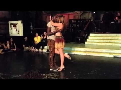 Enah & Isabelle Kizomba Performance LA Zouk Congress 2014