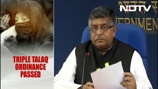 """Executive Order On Triple Talaq A """"Compelling Necessity"""", Says Government - NDTV"""