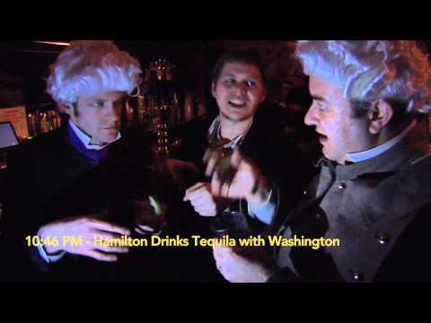 Hamilton Likes to Party…