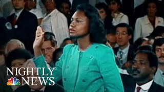 Brett Kavanaugh Sexual Assault Allegation Echoes Surrounding Anita Hill | NBC Nightly News - NBCNEWS