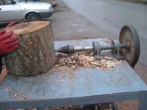 masina de crapat lemne