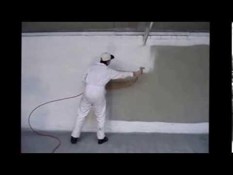 Pintar paredes com maquina de pintura AIRLESS