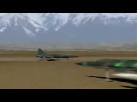 Pakistan Air Force JF 17 Thunder multirole combat fighter in Action against IAF