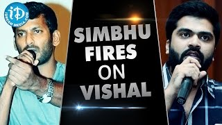 Simbu Fires On Vishal Over Nadigar Sangam Elections
