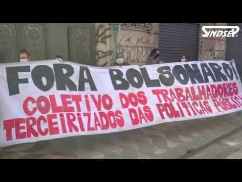 Trabalhadores da Assistência Social, sindicatos e coletivos exigem proteção e denunciam negligência do governo Covas/Doria