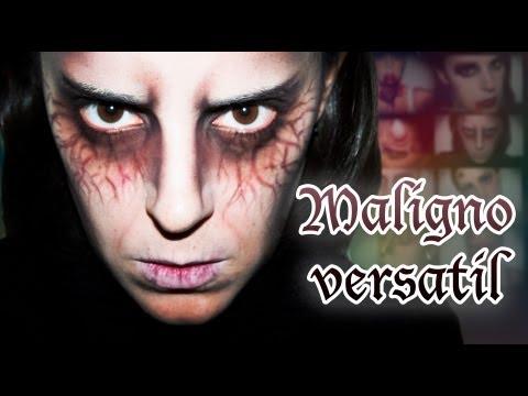 Maquillaje Halloween: Maligno versatil efectos especiales, FX #4 | Silvia Quiros