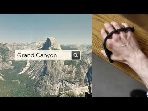 Film prezentujący funkcjonalność przenośnej klawiatury Tap Strap