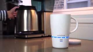 لعشاق القهوة كوب لاسلكي للتسخين 
