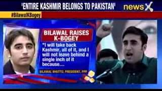 Bilawal Bhutto vows to take back Kashmir from India - NEWSXLIVE