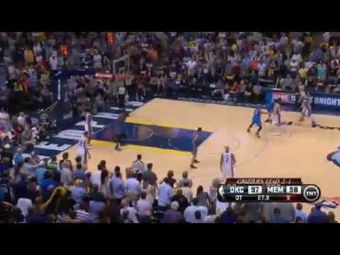 Oklahoma City Thunder Vs Memphis Grizzlies - NBA Playoffs 2013 Game 4 - Full Highlights 5/13/13