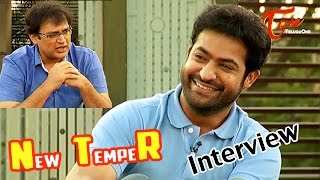 Jr Ntr Exclusive Interview About Temper - TELUGUONE