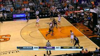 Eric Bledsoe's Huge Block On Anthony Davis