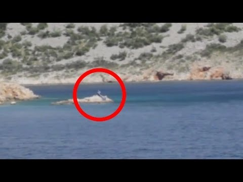Real Mermaid caught on camera in Mallorca