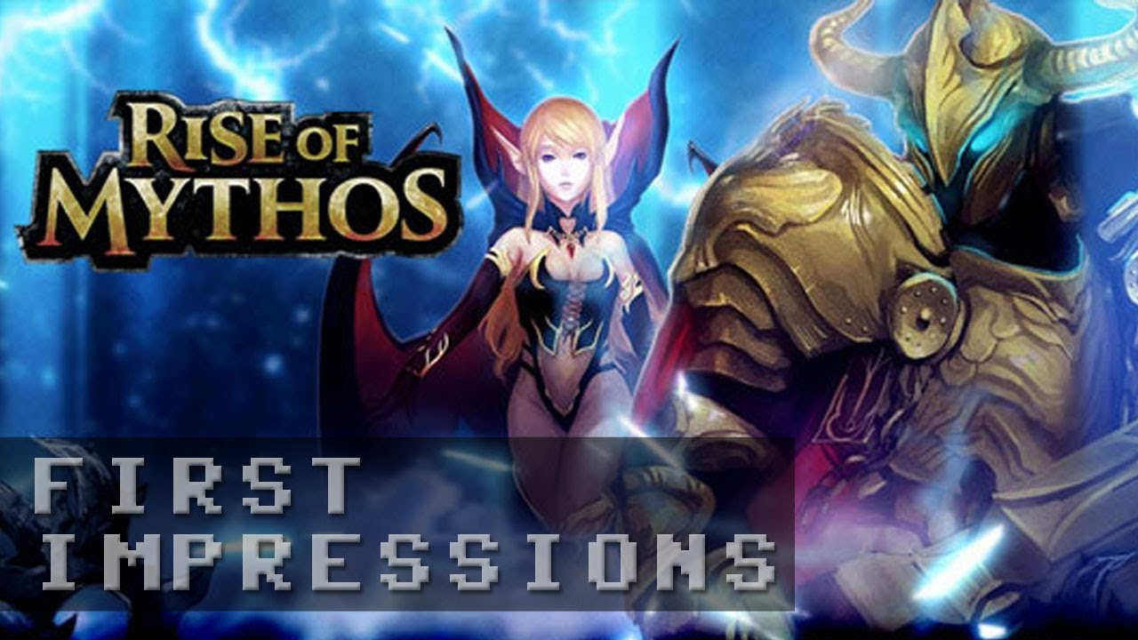Rise of Mythos Gameplay - First Impressions HD