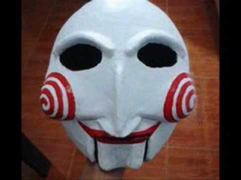 mascara de SAW de papel higienico