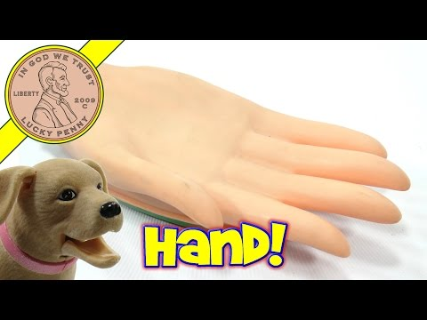 Wind Up Helping Hand Vintage Novelty Toy, Helps LPS-Dave!