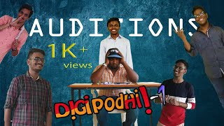 DIGIPODHI the auditions  - |Telugu short film|- - YOUTUBE