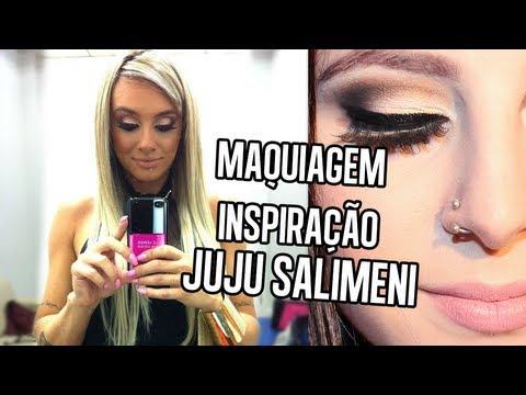 Maquiagem Inspiração Juju Salimeni | by @Sehziinha