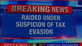 I-T raids SPK contractors office in Chennai; raided under suspicion of tax evasion - NEWSXLIVE