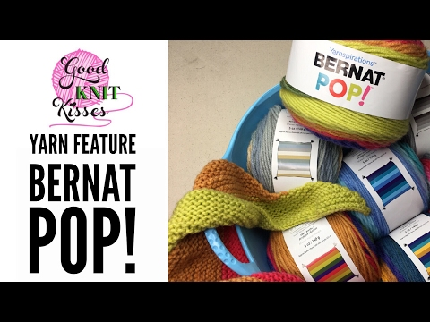 New Yarn! Bernat Pop! by Yarnspirations found at Walmart