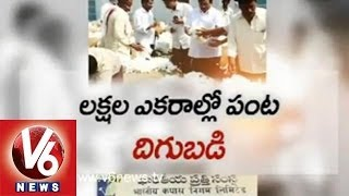 CCI Centers Refused to Buy Cotton in Guntur Market Yard - V6NEWSTELUGU