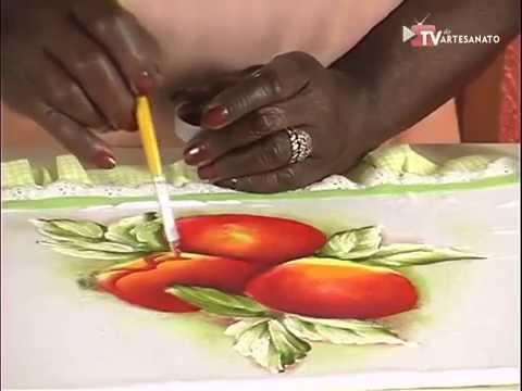 Pintura em Tecido - Frutas