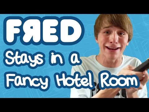 Fred Stays in a Fancy Hotel Room